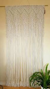 macrame curtains lace cafe uk diy curtain tutorial and room dividers