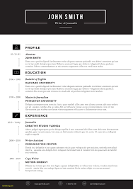 Resume Formats In Microsoft Word New Free Creative Resume Templates