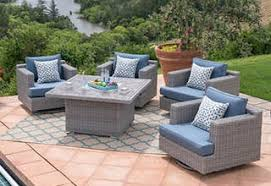Outdoor patio furniture cover Stone Outdoor Patio Fire Pits Chat Sets Classic Accessories Patio Outdoor Furniture Costco