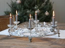 Kerzenkranz Alt Franz Kranz X19 Für 6 Kerzen Antique Creme