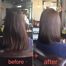 梅雨時期もくせ毛がまとまる湿気でも広がらない髪質改善ストレート