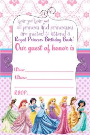 17 best ideas about disney princess invitations disney princess invitation and thank you card mysunwillshine com