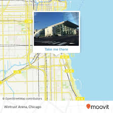 How To Get To Wintrust Arena In Chicago By Chicago L Bus