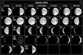 Lunar Calendar For January Bitz N Bitez
