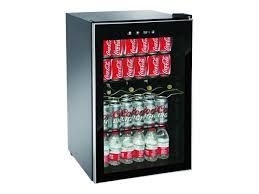 beverage wine center refrigerator can mini fridge soda drinks bar cooler black