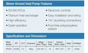 best above ground pool heater reviews chainsaw journal hayward hp50ta heat pump