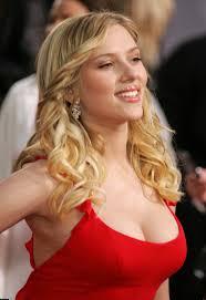 Scarlett johansson Hot in Red Dress Scarlett johansson