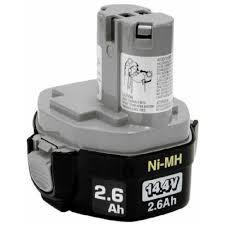 Купить <b>Аккумулятор Makita</b> тип 1434, <b>14.4В</b>, <b>2.5 Ач</b> NiMh (193101 ...