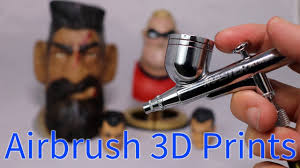 Learning to <b>Airbrush 3D</b> Prints - YouTube