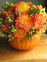 Magnificent Dining Table Decoration With Fall Table Centerpiece Decor :  Magnificent Dining Room Decoration Using Orange