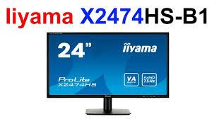 Обзор <b>Монитора Iiyama ProLite X2474HS</b>-B1 !!! Не Покупайте на ...