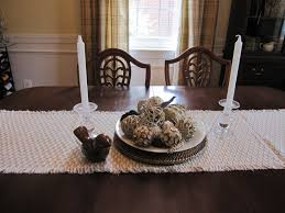 sweet white candle dining room table centerpieces and scarf inspiration cloth well brown chairs set rustic decorating designs dainty din glass tables