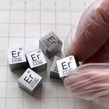 เออร์เบียม Er Cube 10 มม.99.9% Magnetic Materials