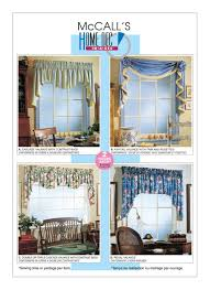 Window Valance Patterns Awesome Sewing Pattern For Four Window Valance Patterns McCall's Etsy