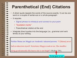 Citing A Quote Beauteous AP48 4848 Citations Powerpoint