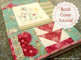 cover a book tutorial patchwork posse