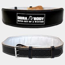 black weight lifting belt