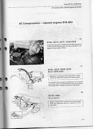 volvo 240 ac notes next two drawings are from an 85 wiring diagram manual