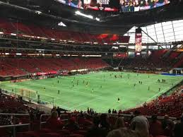 Atlanta United Seating Chart Mercedes Benz Mercedes Benz Stadium Section 116 Home Of Atlanta Falcons