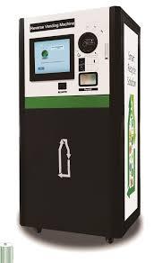 Reverse Vending Machine Impressive Indoor Reverse Vending Machine Rvm Cans And Bottles With Tv Screen