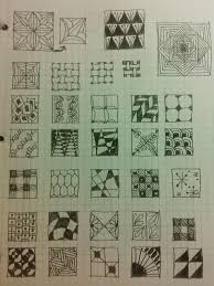 patterns to draw on graph paper just one more thing book review zentangles