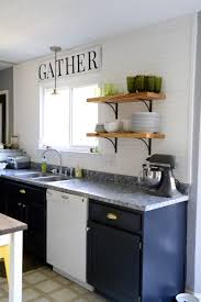 Paint Counter Top Our Painted Cabinets Counters One Year Later Love Renovations