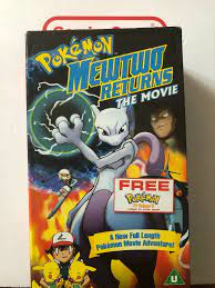 Pokemon Mewtwo Returns The Movie VHS Video Retro Supplied by Gaming Squad  for sale online