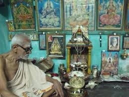 Image result for images of old man doing puja room
