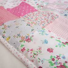 image of flower baby girl quilt kits