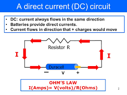 direct current. 2 a direct current (dc) circuit dc: always flows in the same e