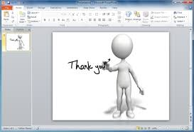 Powerpoint Animations Finish Your Powerpoint Presentations With Animated Thank You Clipart