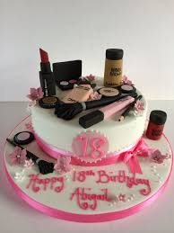 Female 18th Birthday Cake Designs