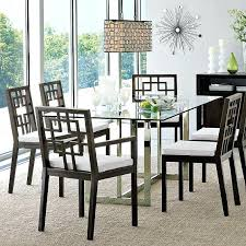 glass top dining room tables rectangular. full image for black metal glass top dining table legs room tables rectangular