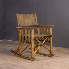 excellent image of wood folding rocking chair antique wooden rocking chair identification