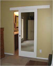 diy barn door with glass insert small bathroom door solution barn doors hardware