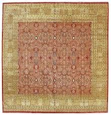 square tabriz design rug j29873