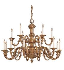 metropolitan lighting n700218 18 light classic brass chandelier undefined