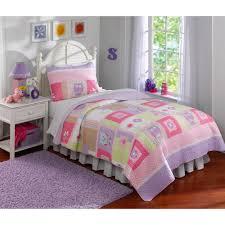happy owls bedding quilt set  walmartcom