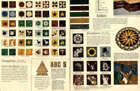 vintage vinyl floor tiles