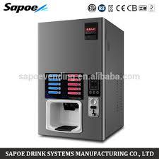Coffee Vending Machine Business Classy Sapoe Business 48 Hot And 48 Cold Latte Small Coffee Vending Machine