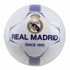 balón real madrid c f escudo