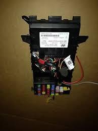 03 08 hyundai tiburon bcm body control module fuse box assembly image is loading 03 08 hyundai tiburon bcm body control module