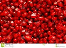 Granaatappel zaden