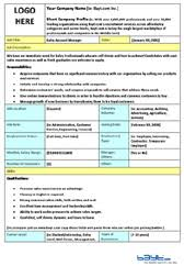 Work Description Form Medical Assistant Job Description 8ws Templates Forms
