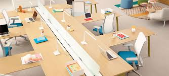 architecture office furniture. Haworth Intuity Modular Desks Linked Together Architecture Office Furniture