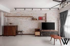 a rustic industrial interior design