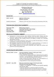 Student Cv Examples 003 Pharmacist Curriculum Vitae Template Example Elegant Pharmacy