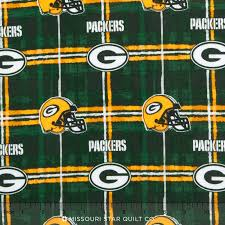NFL - Green Bay Packers Flannel Yardage - Fabric Traditions ... & NFL - Green Bay Packers Flannel Yardage Adamdwight.com