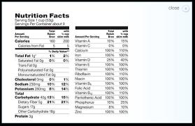 total raisin bran nutritional information nutrition ftempo