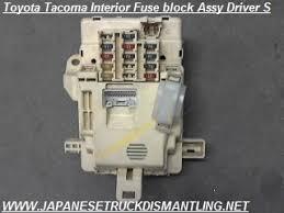 2001 2002 2003 2004 toyota tacoma fuse block assembly 82730 04010 , toyota tacoma fuse box 2017 fuse block view larger photo email